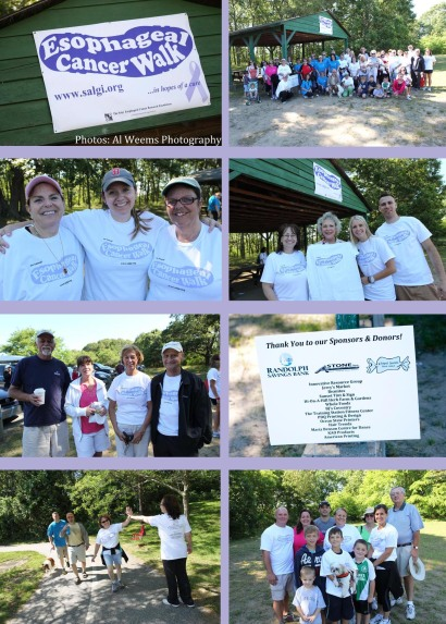 First Annual Esophageal Cancer Walk Rhode Island - The Salgi Esophageal Cancer Research Foundation