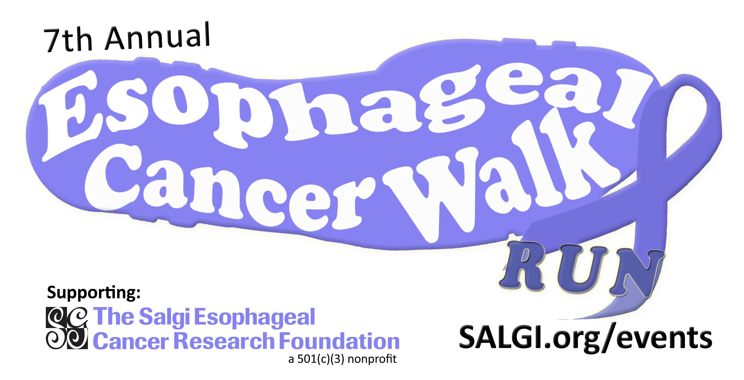 7th annual esophageal cancer walk run rhode island salgi esophageal cancer research foundation nonprofit charity awareness early detection charity walk charity run ri