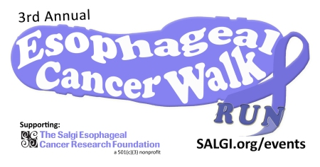 3rd Annual Esophageal Cancer Walk/Run- The Salgi Esophageal Cancer Research Foundation