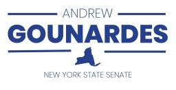 State Senator Andrew Gounardes represents New York's 22nd State Senate District