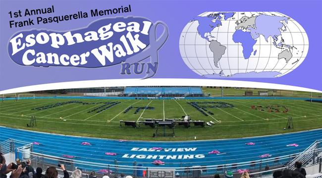 EB EV Track IG FB TW Virtual Frank Pasquerella Memorial Walk Run The Salgi Esophageal Cancer Research Foundation